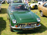 Wouldn't be a classic car show without an MGB