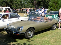 E type Jaguar