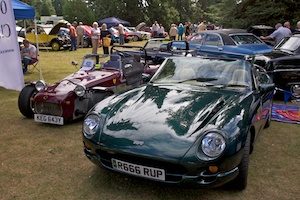 TVR Chimera (and a Tiger)