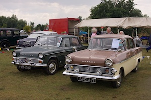 Hillman Minx and Vauxhall Victor