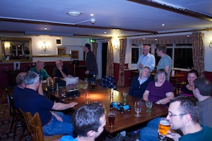 A few owners in the pub