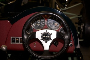 Interior Dials all sourced from Triumph Doner and an IVA compliant Steering Wheel