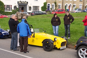 Simon Noble's Tiger R6 attracting attention