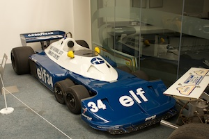 Tyrell T34 6 Wheeled Grand Prix Car