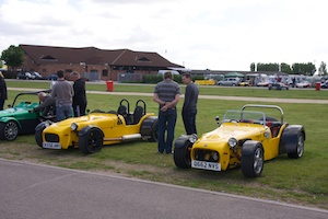 Unknown Tiger R6 and Allan Griffin's Tiger Super 6