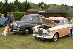 Austin A40 Somerset and Wolseley 1500
