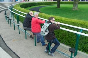 Tiger Owners waiting for the winner to come in