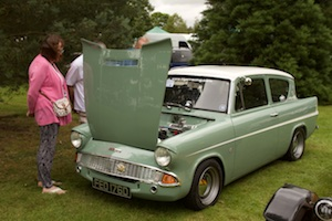 Paul Dudley's Ford Anglia