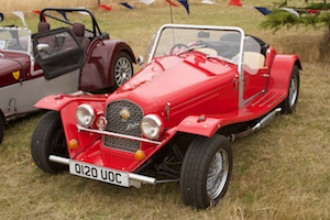 Our newest member and winner of Best Kit Car Angus Grooby's Marlin