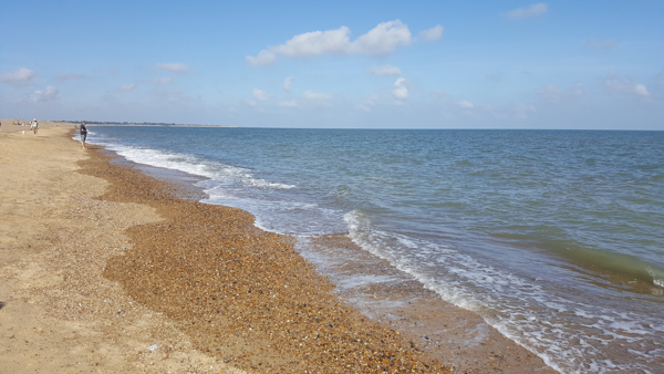 View of Dunwich Beach