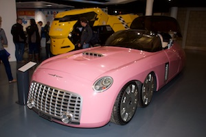 Thunderbirds Car