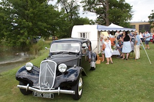 Classic Caravan with Citroen