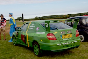 Charity Car as Thunderbird 2