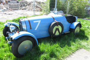 Bugatti Replica and building work in progress