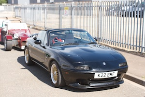 Paul Ashby's Maxda MX-5