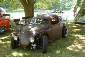 Strange modified VW Beetle