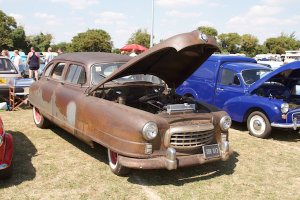 A Cadillac Rust with a new radiator...