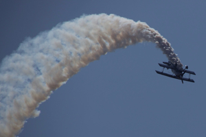 Pitts Special inverted